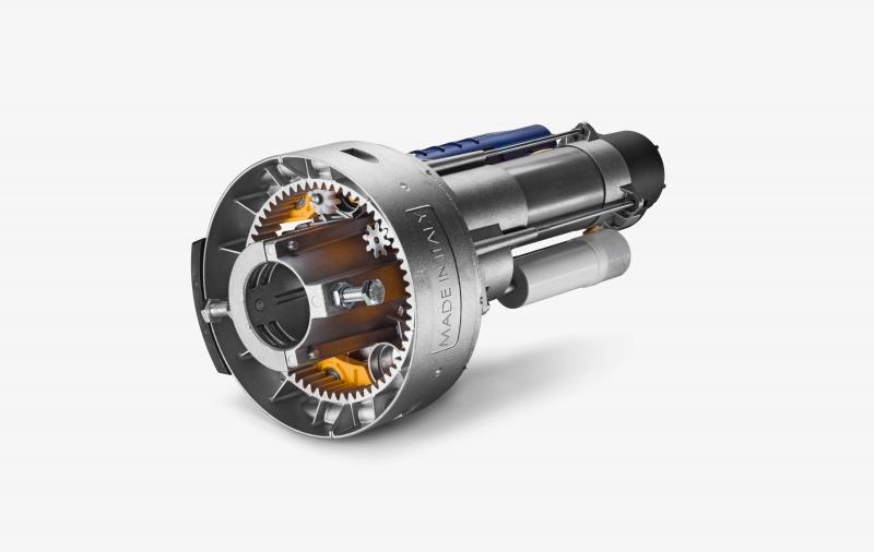 SR1.60 | Superbe | Motorisations pour rideaux métalliques