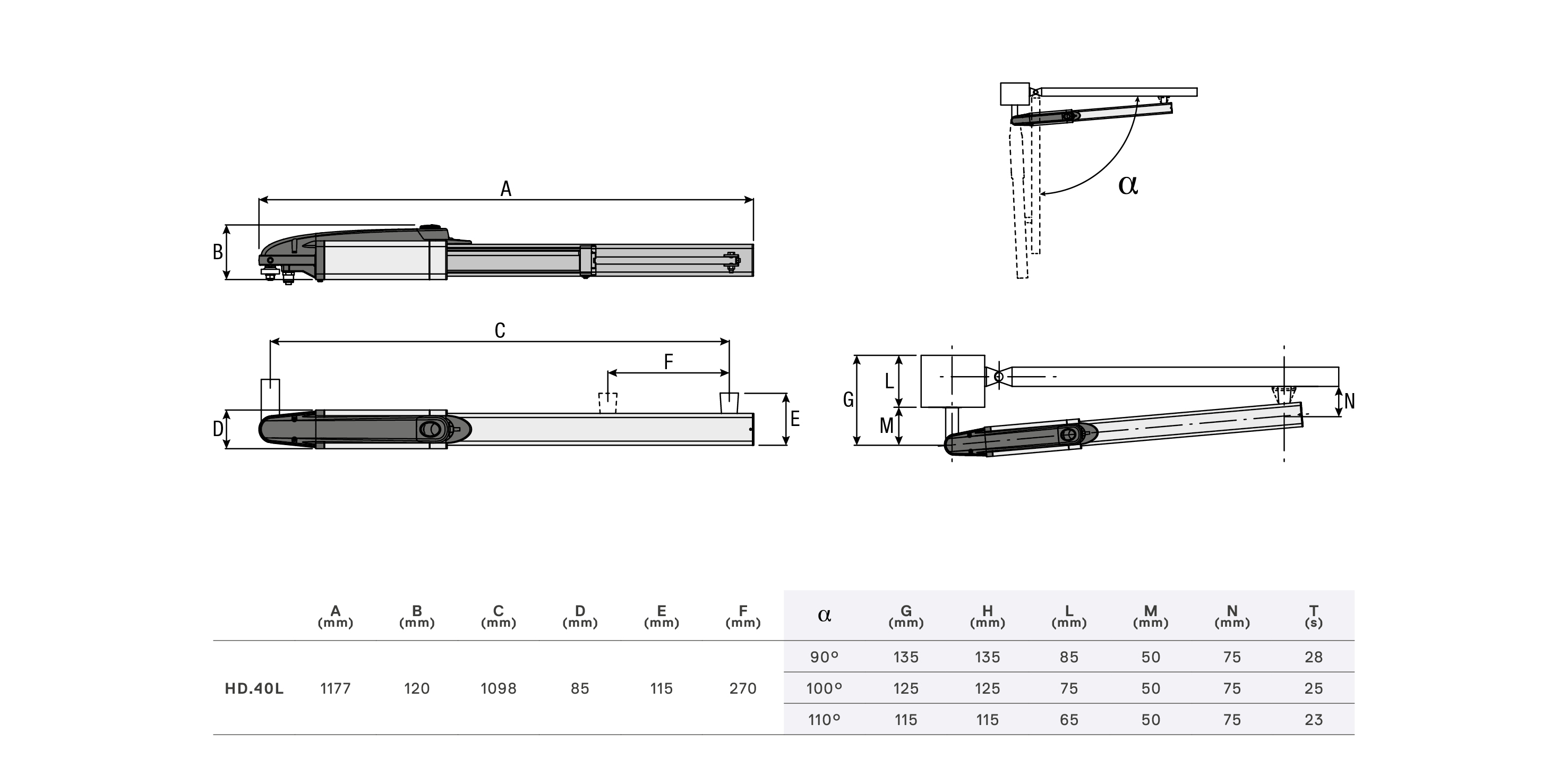 Technical drawing HD.40